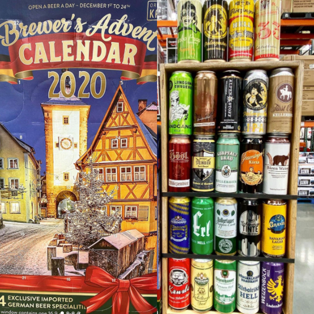 Costco's Brewer Advent Calendar