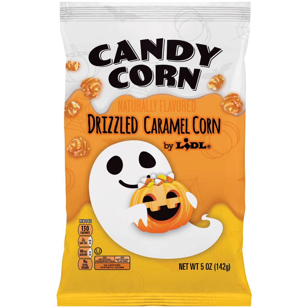 lidl candy corn kettle corn
