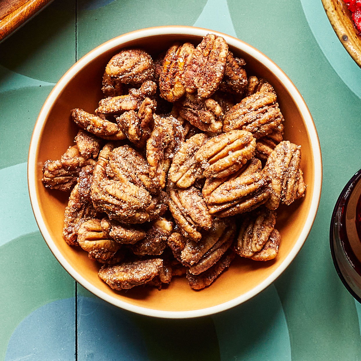 Vegan Spiced Candied Pecans