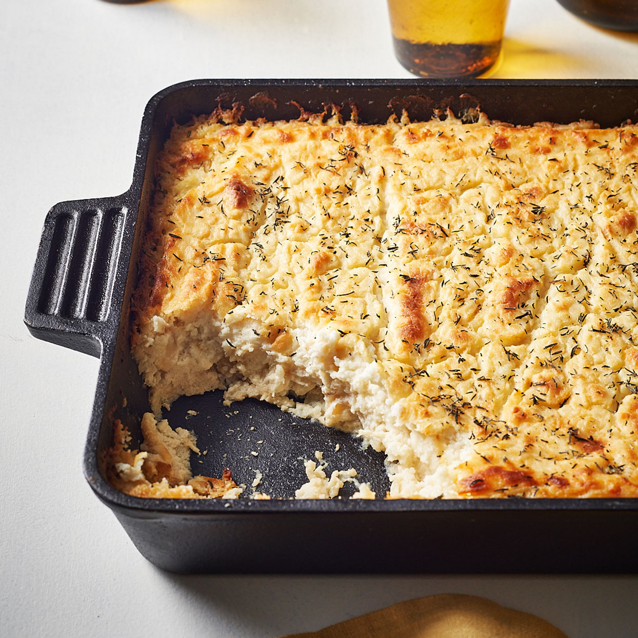 Mashed Potato & Roots Casserole