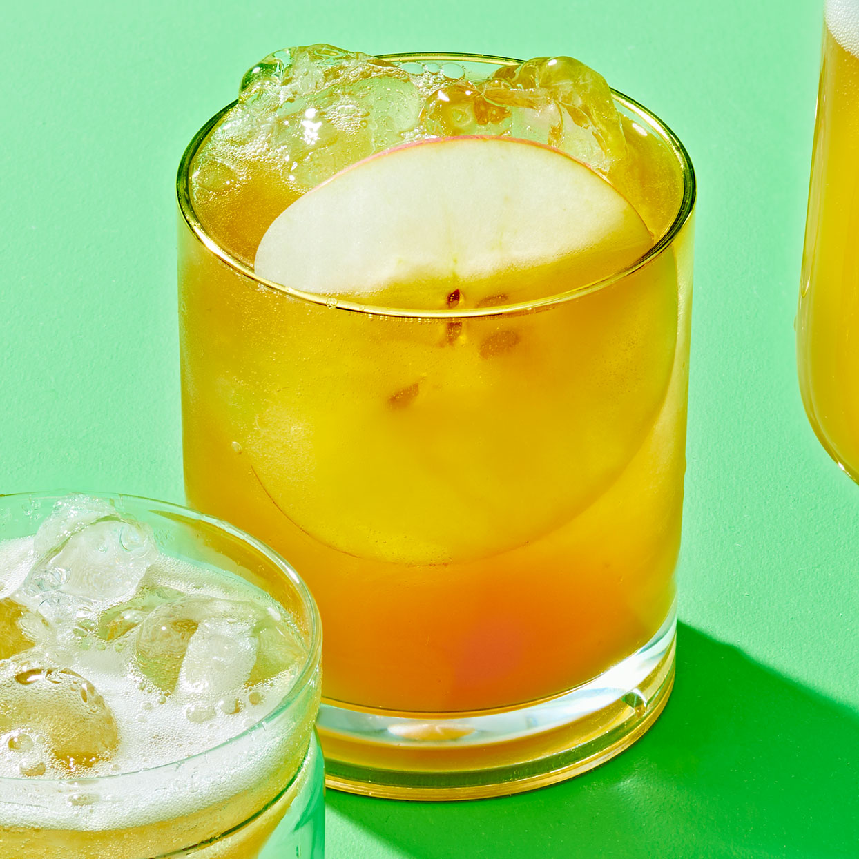 Bourbon Caramel Apple Cocktail