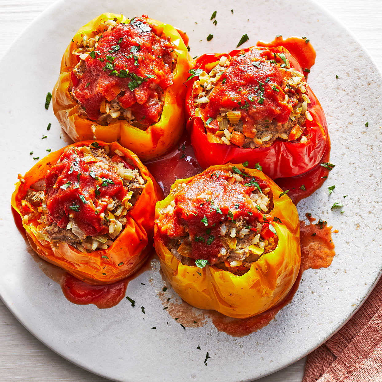 Instant-Pot Stuffed Peppers