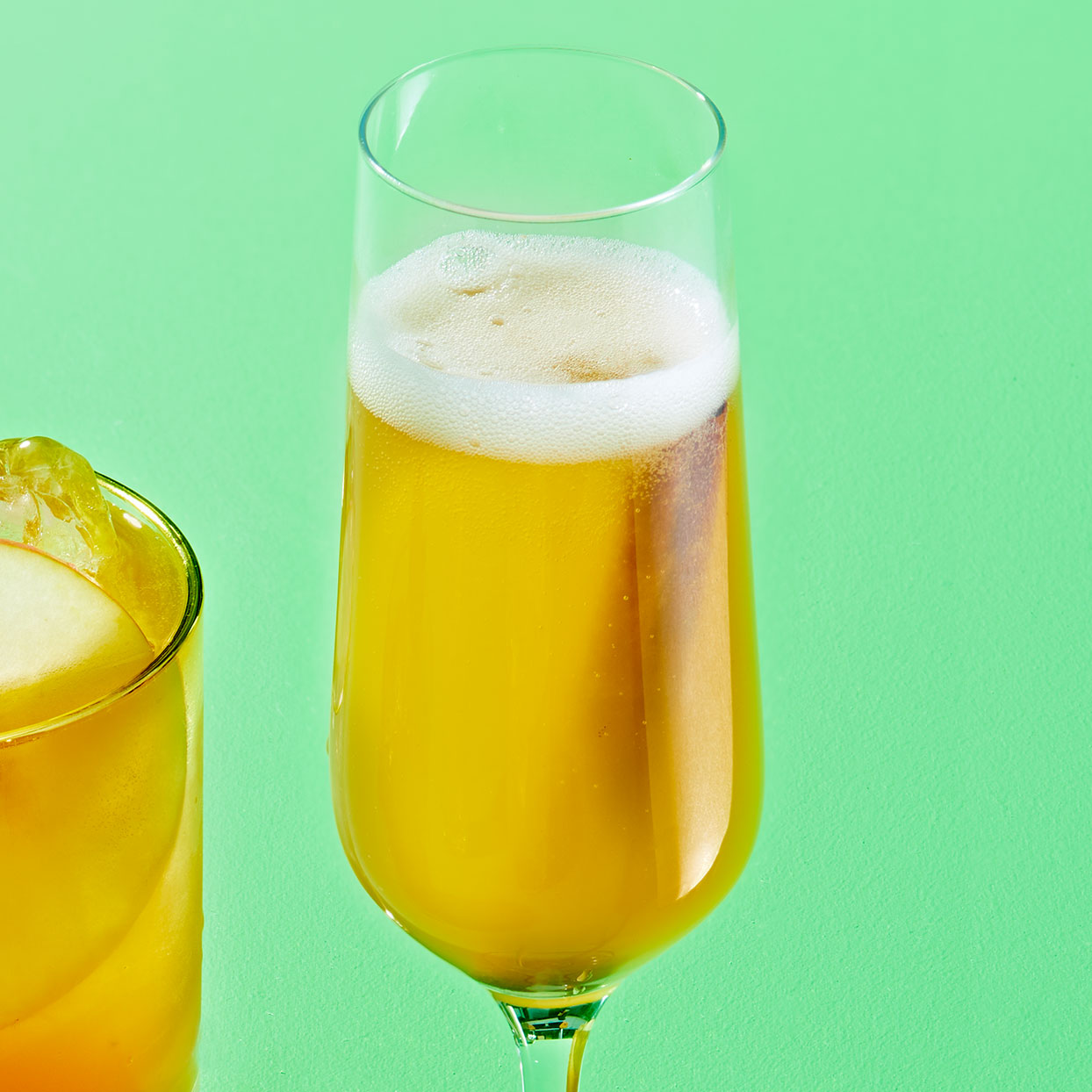 Apple Pie Mimosa