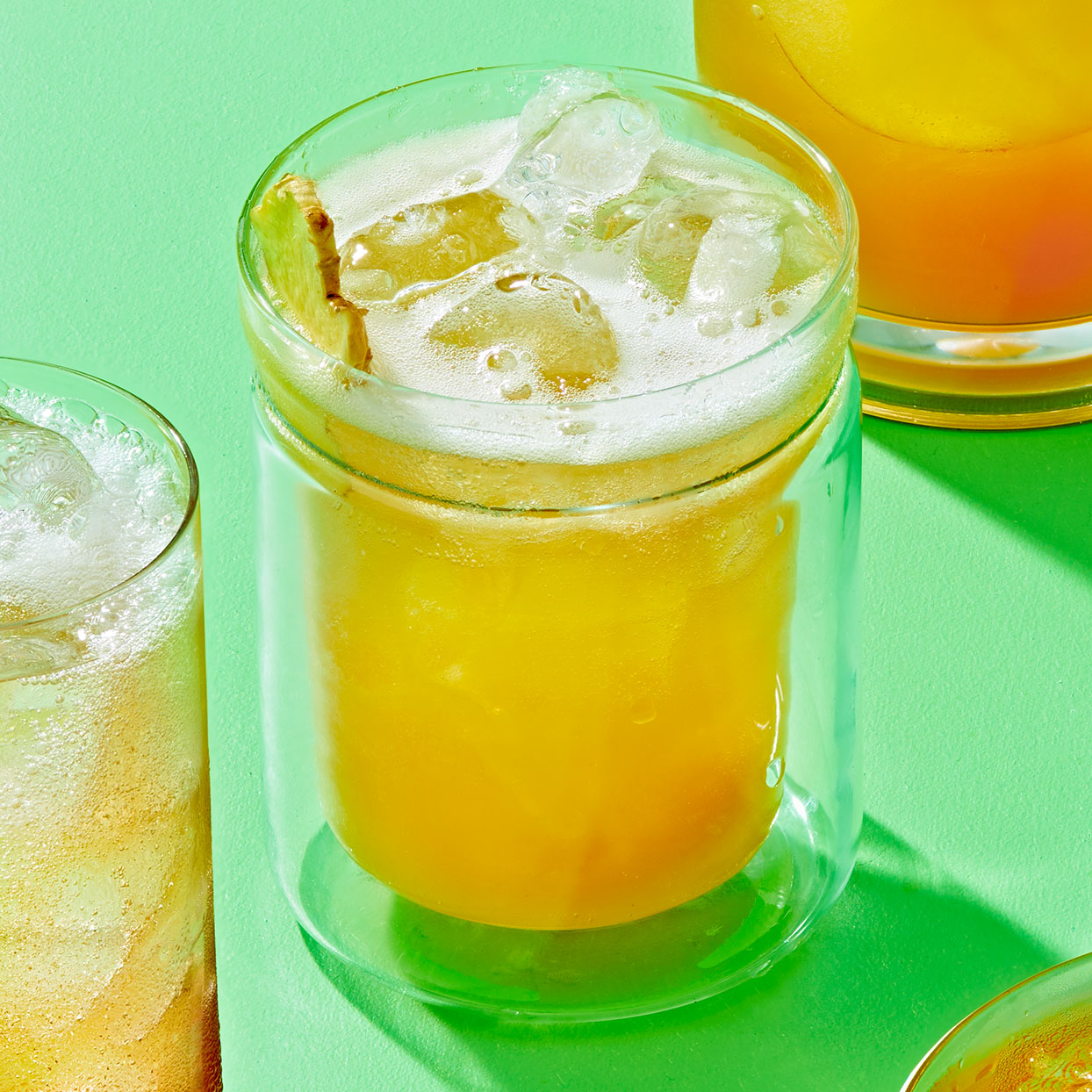 Crisp Apple-Ginger Cocktail