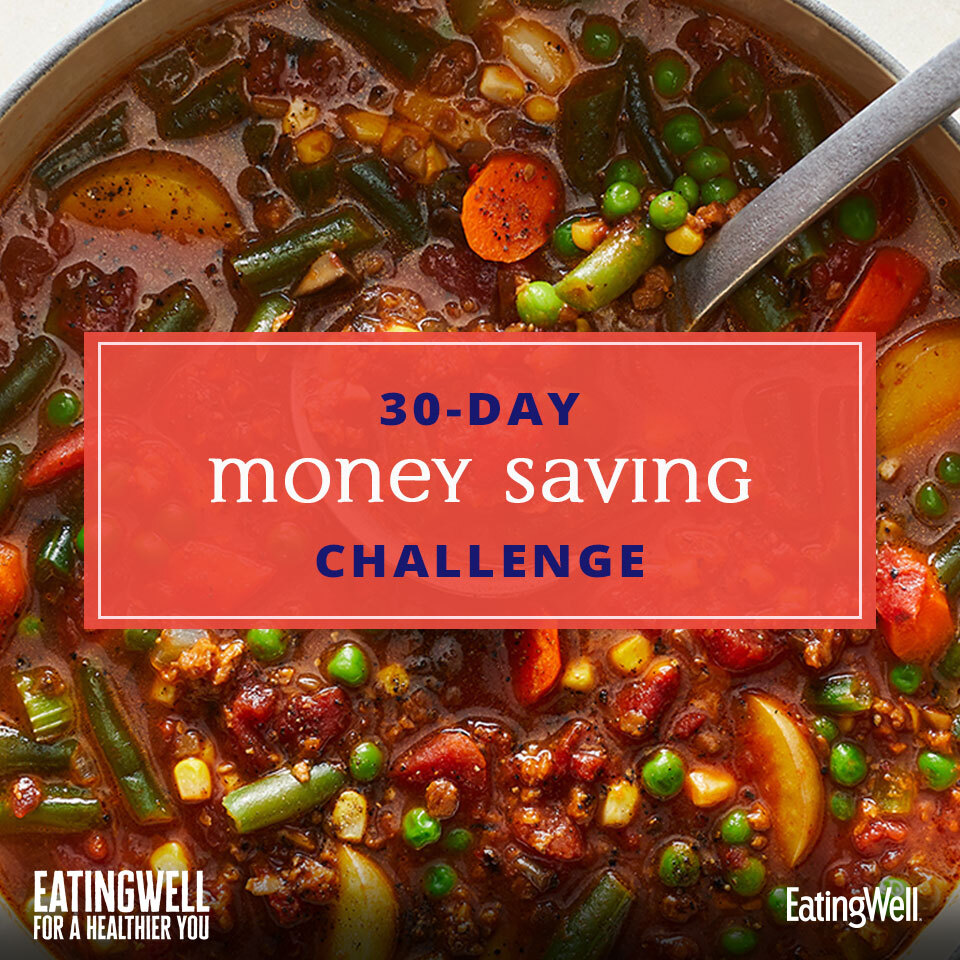 30-Day Money Saving Challenge, EatingWell