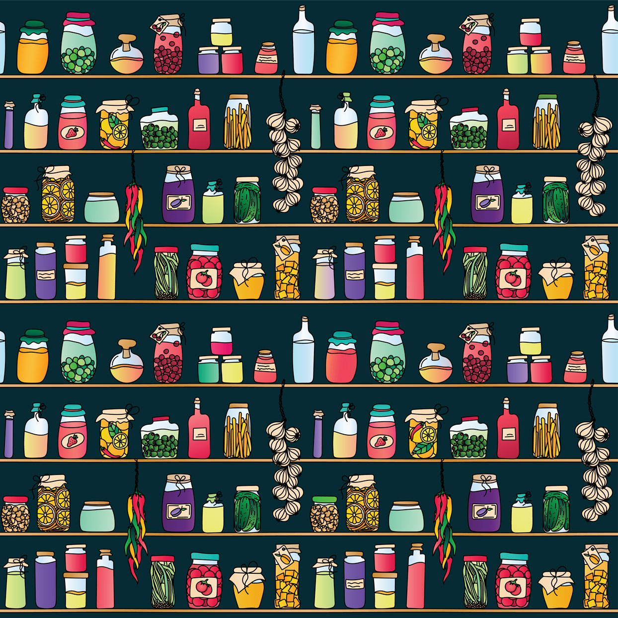 pantry illustration