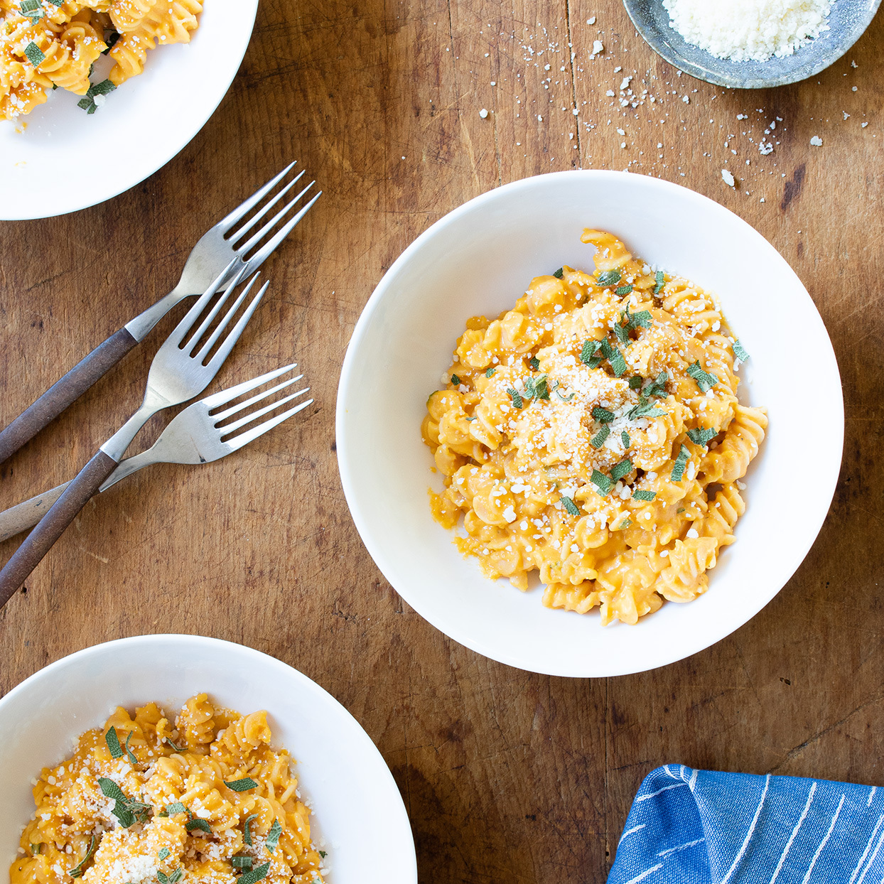 Butternut Squash Chickpea Mac & Cheese