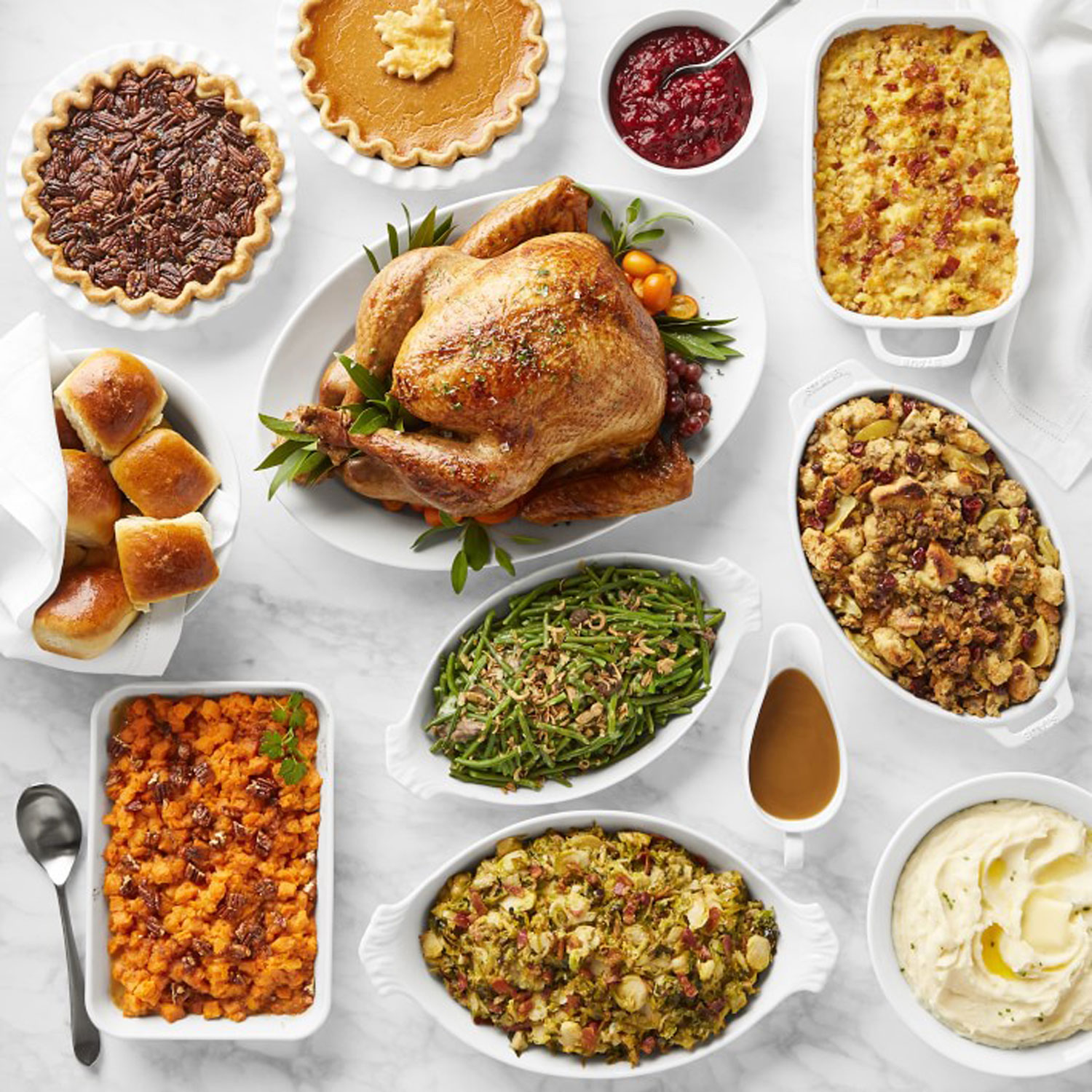 williams sonoma thanksgiving meal