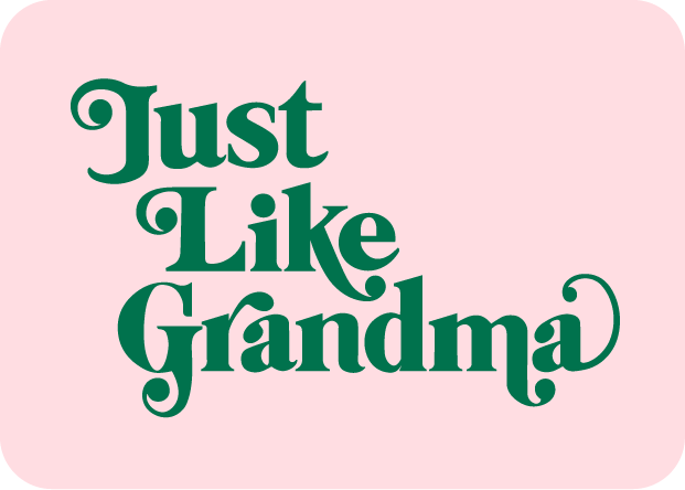 just like grandma stamp