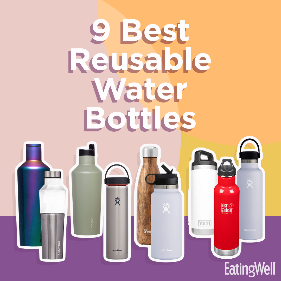best reusable water bottles collage