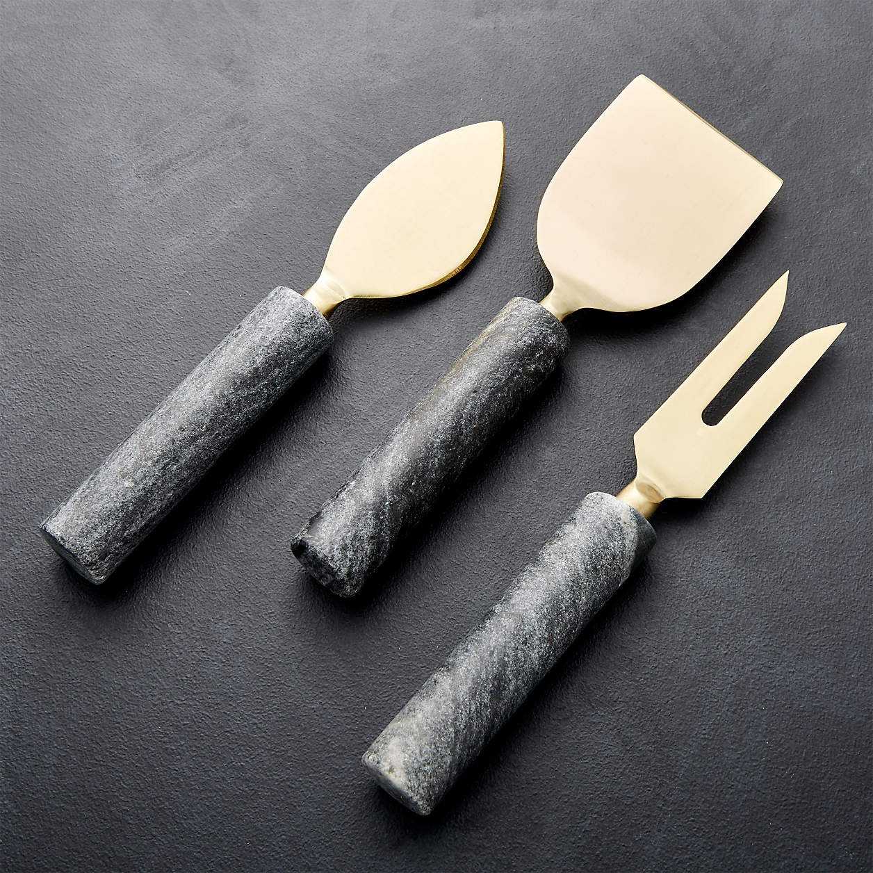 marble cheese knives