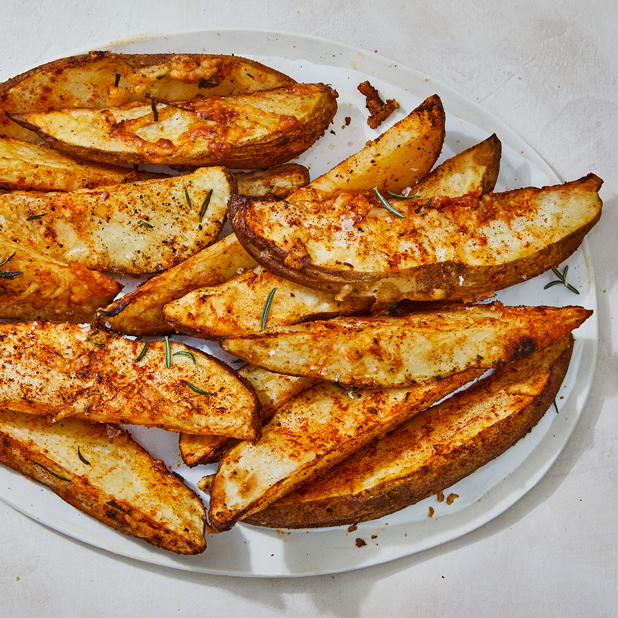 Air-Fryer Potato Wedges