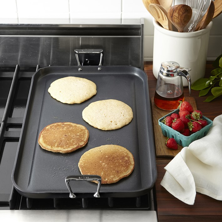 all clad rectangle griddle pan