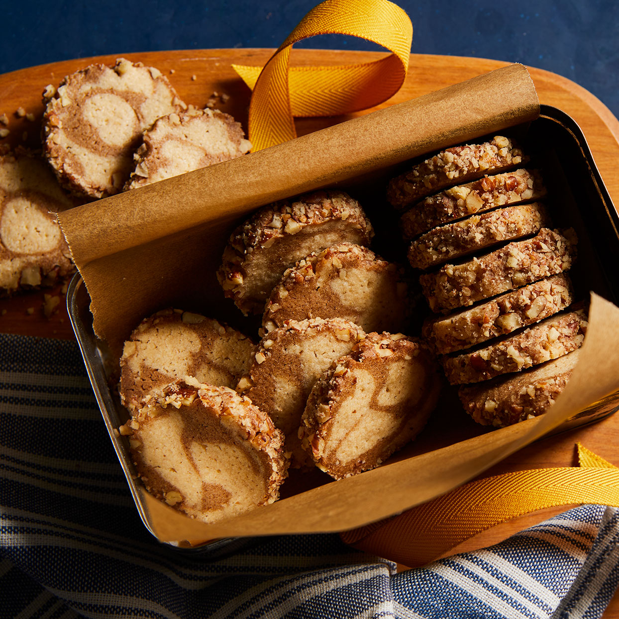 Cinnamon Icebox Cookies