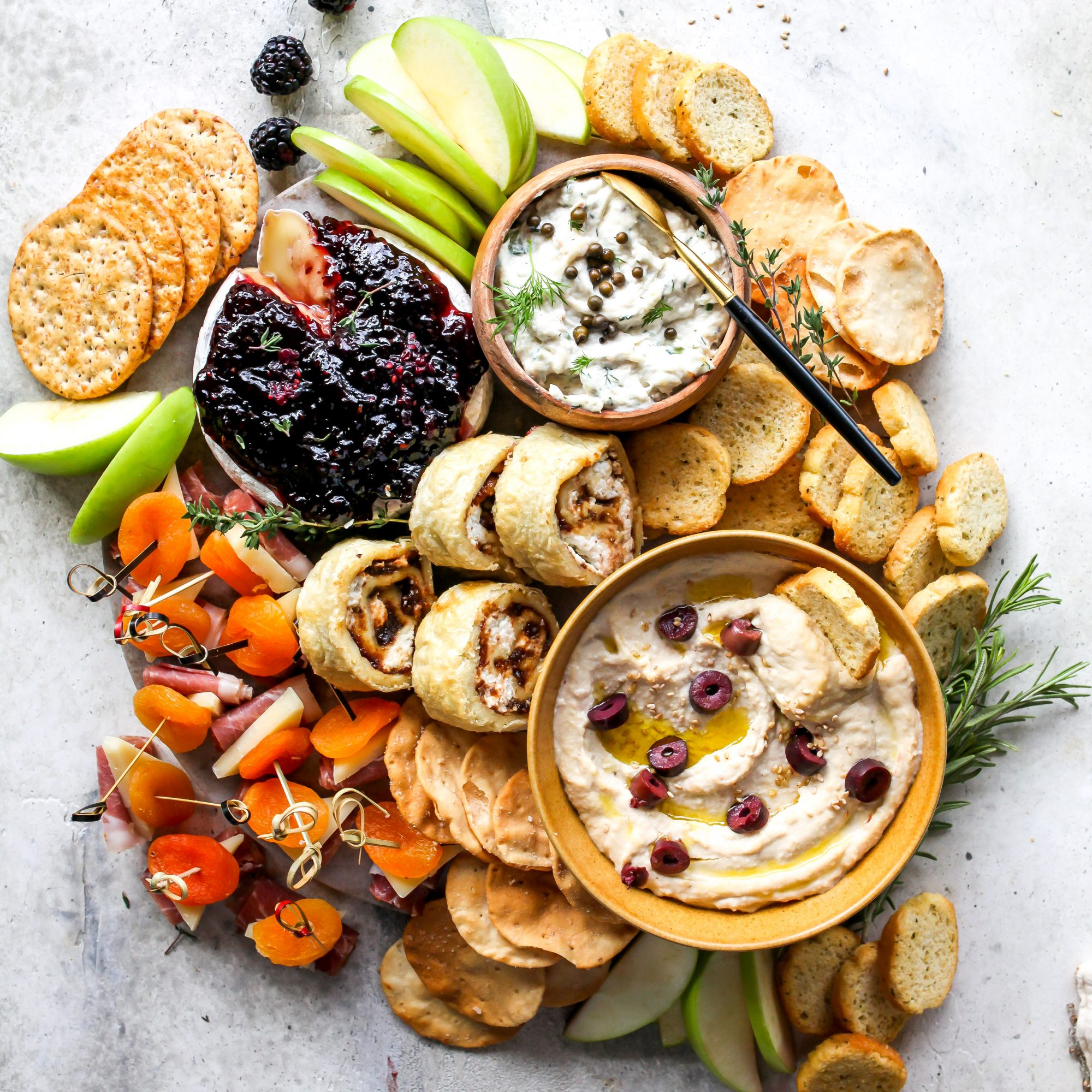 3 ingredient appetizer spread