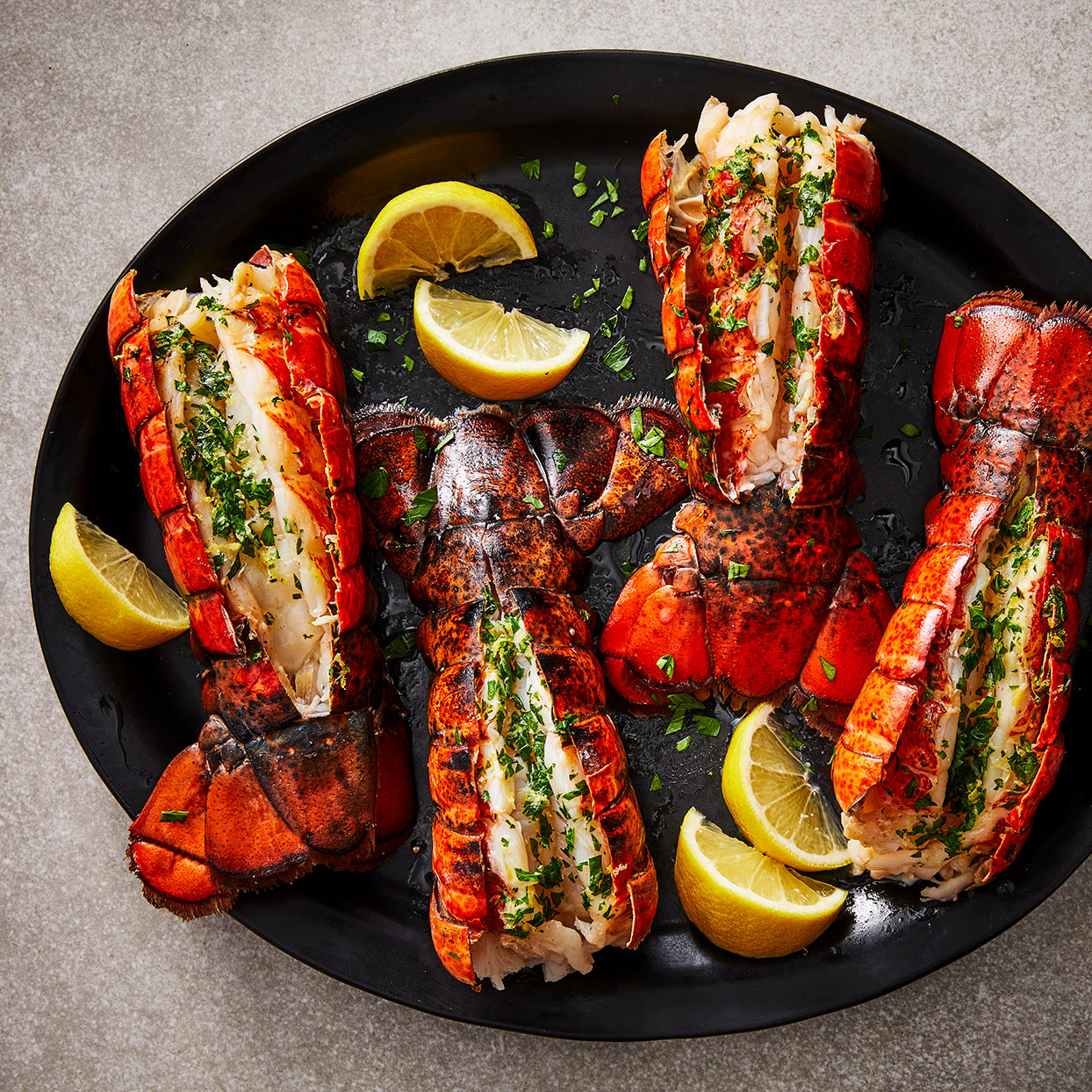 Baked Lobster Tails