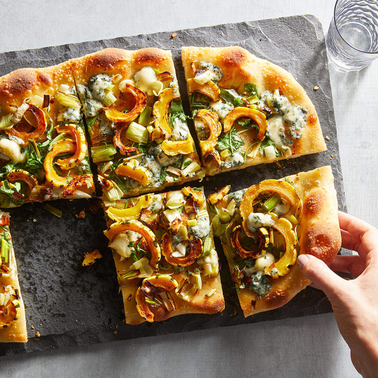 Delicata, Rosemary & Blue Cheese Pizza