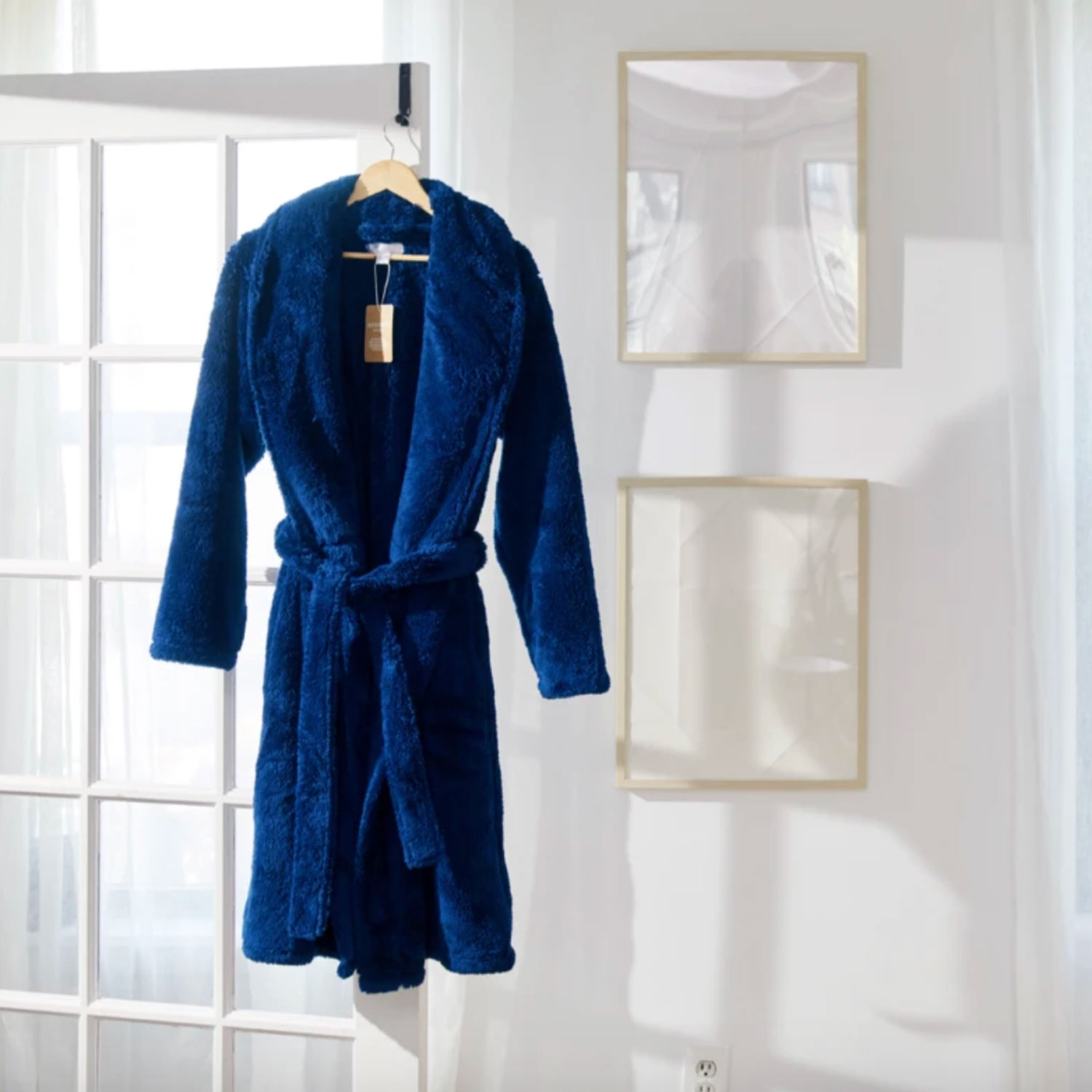 gravity weighted robe