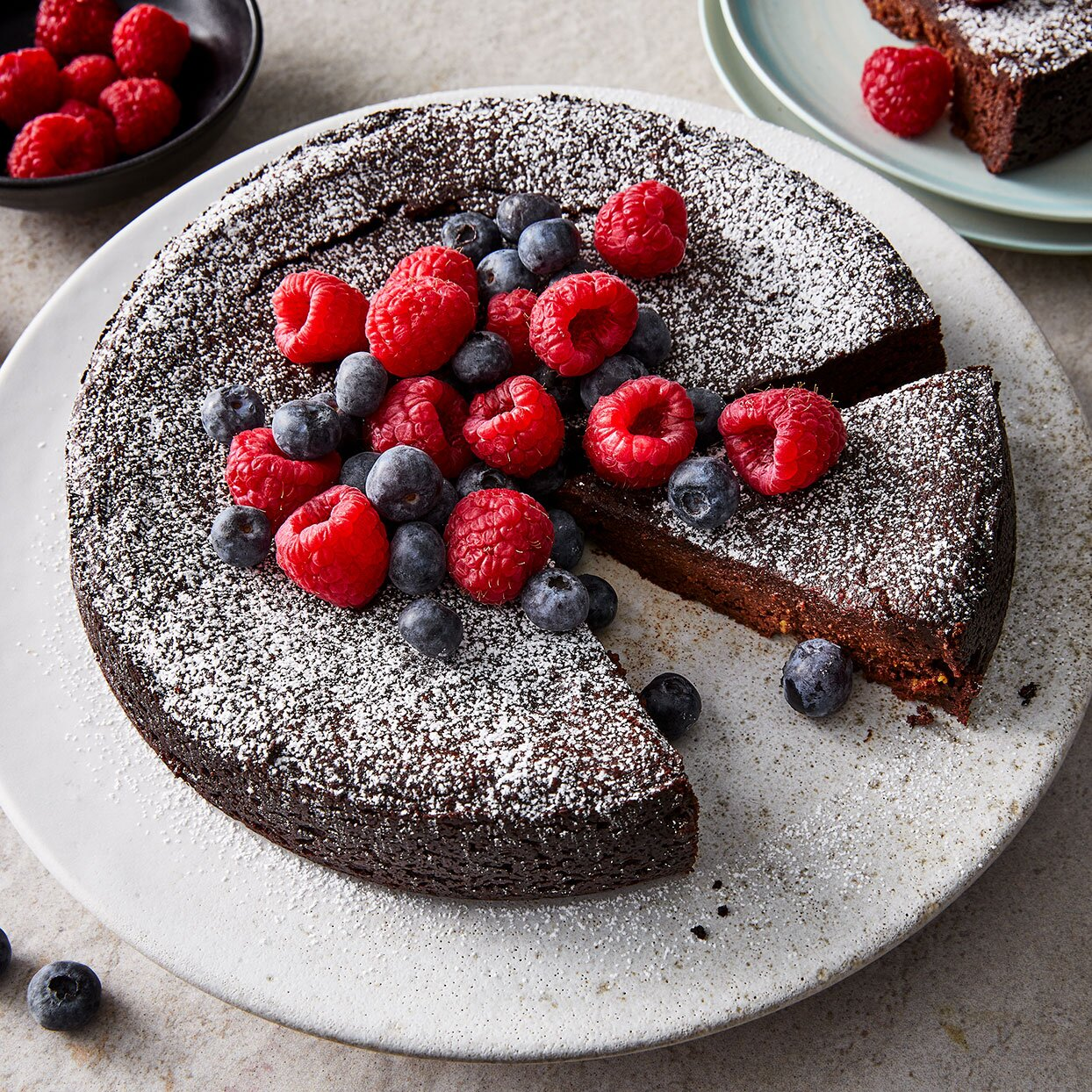 Vegan Flourless Chocolate Cake Recipe Eatingwell