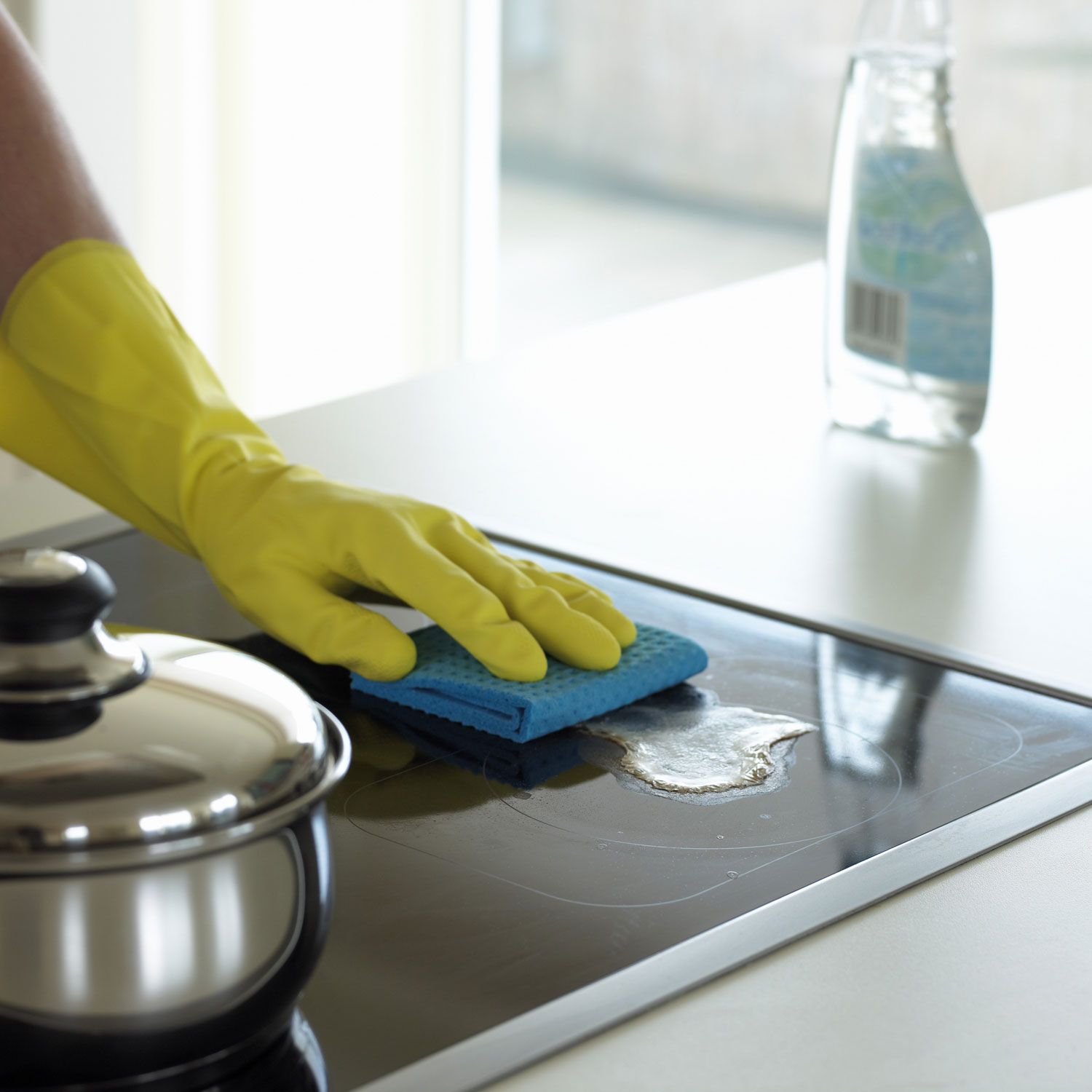 stove top cleaning