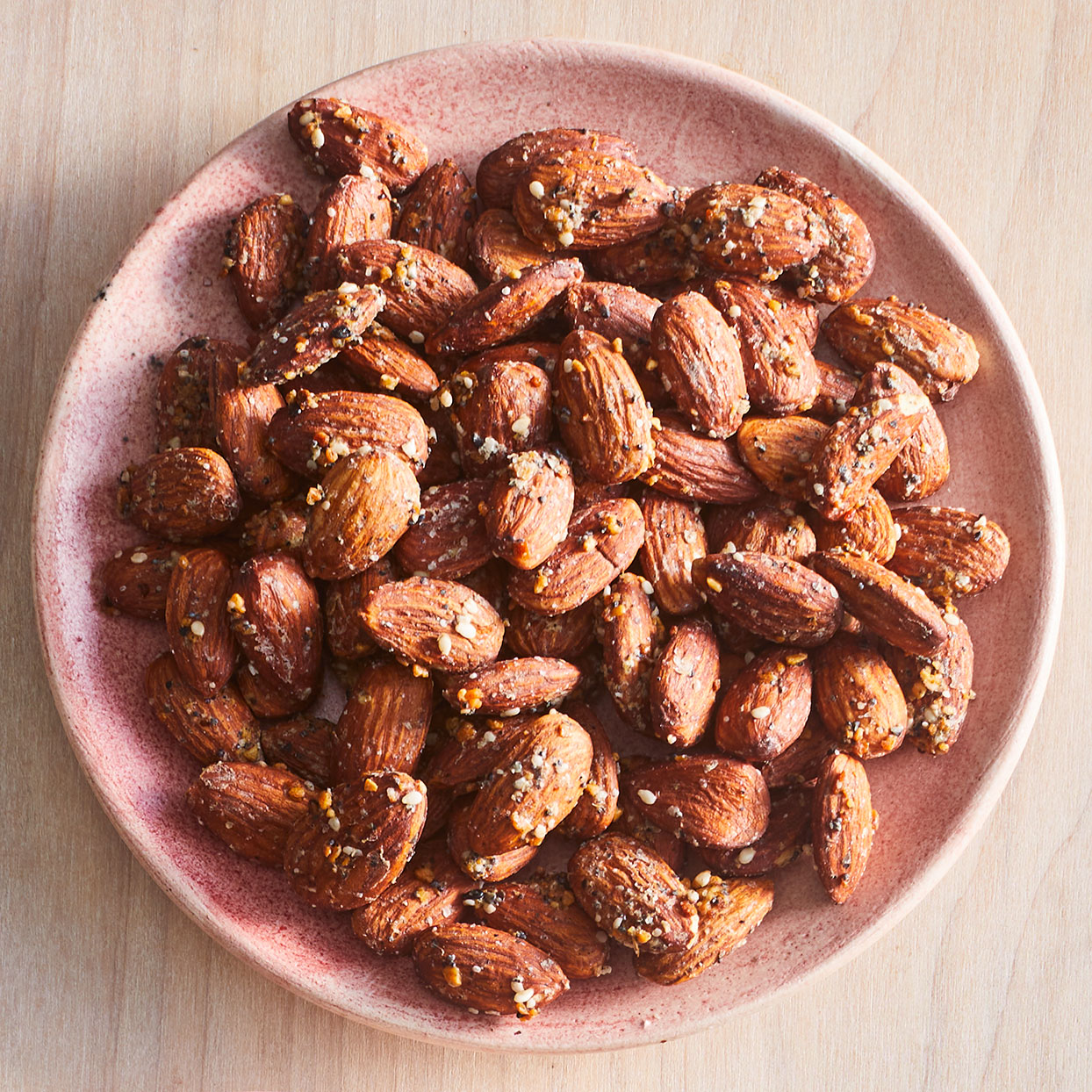 Everything-Seasoned Almonds