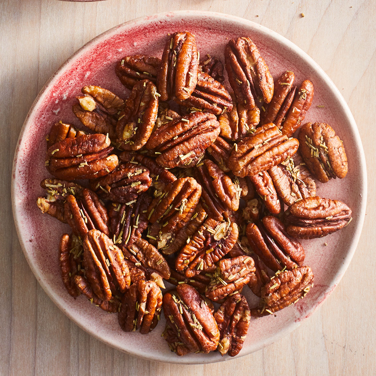 Rosemary-Garlic Pecans