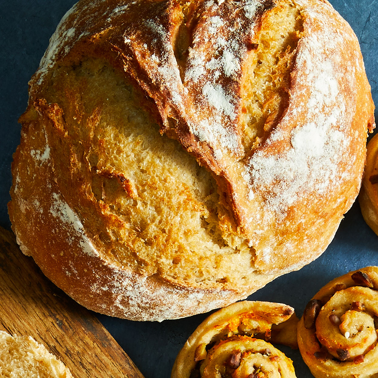 Crusty Wheat Boule