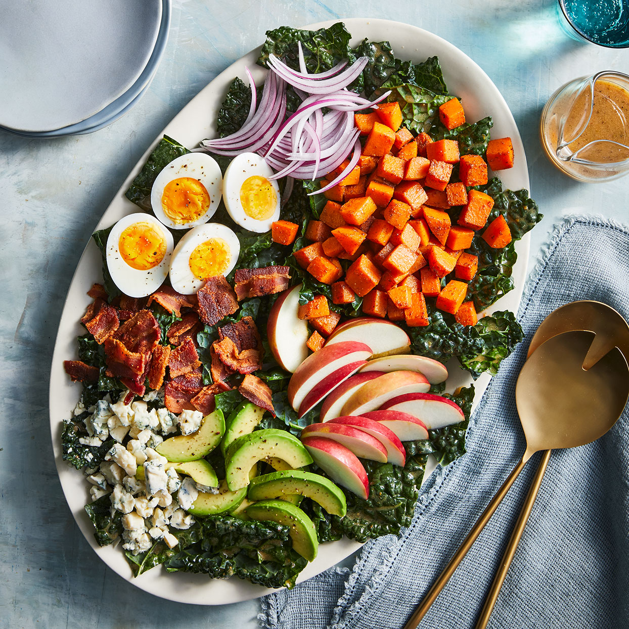 winter cobb salad