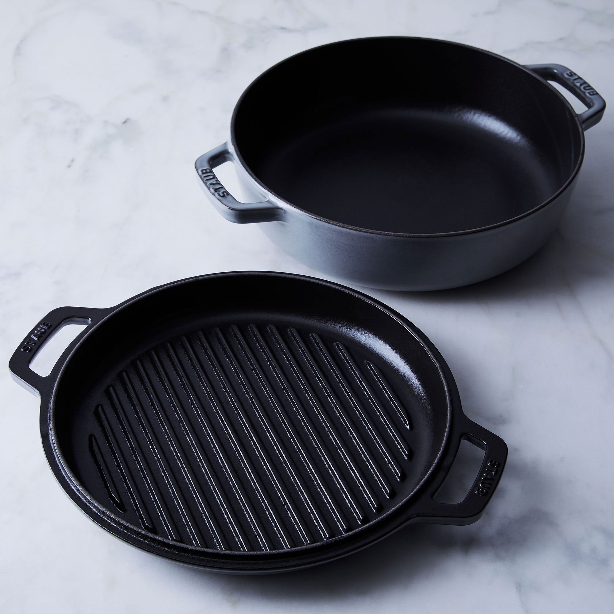Food52 & Staub's 2-in-1 Grill Pan & Cocotte