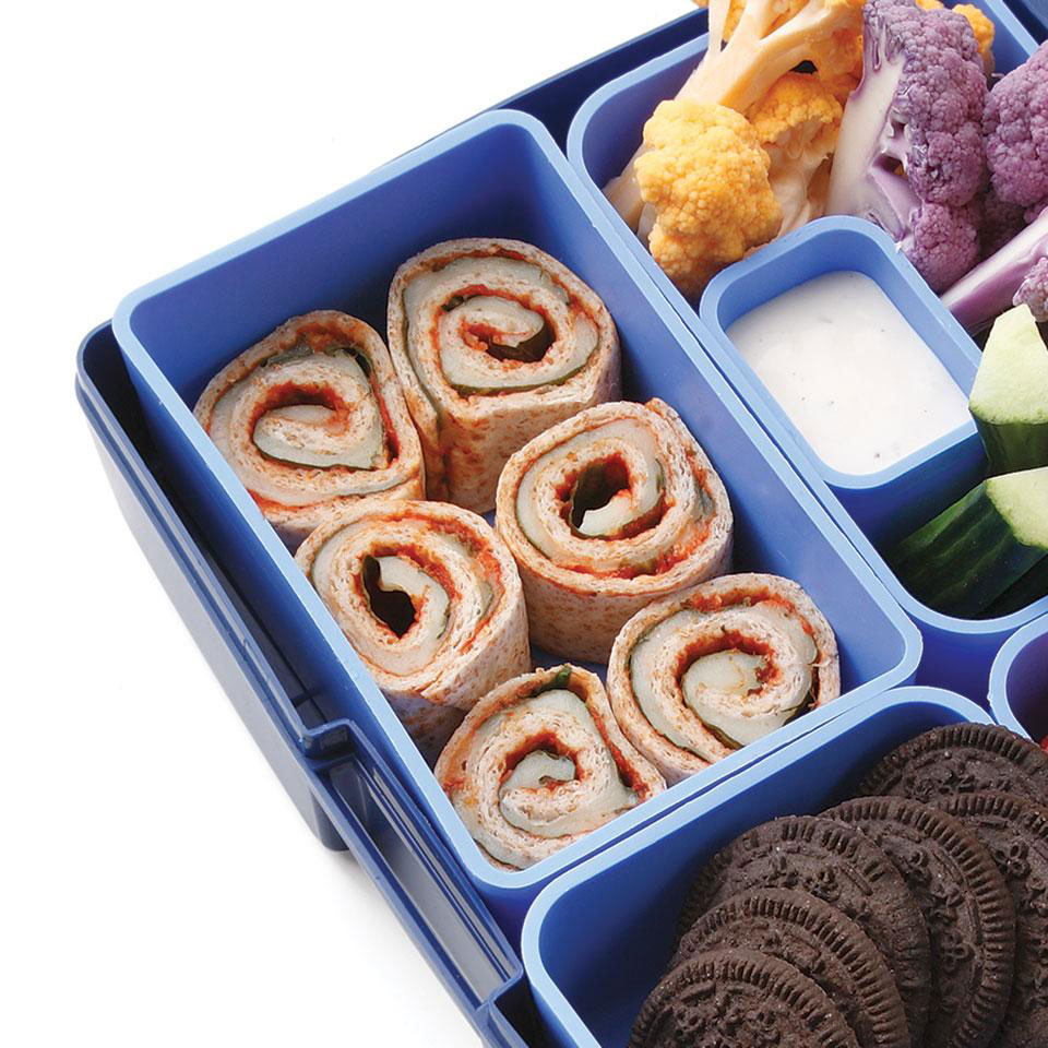 This easy pizza-inspired roll-up is a kid-pleaser.