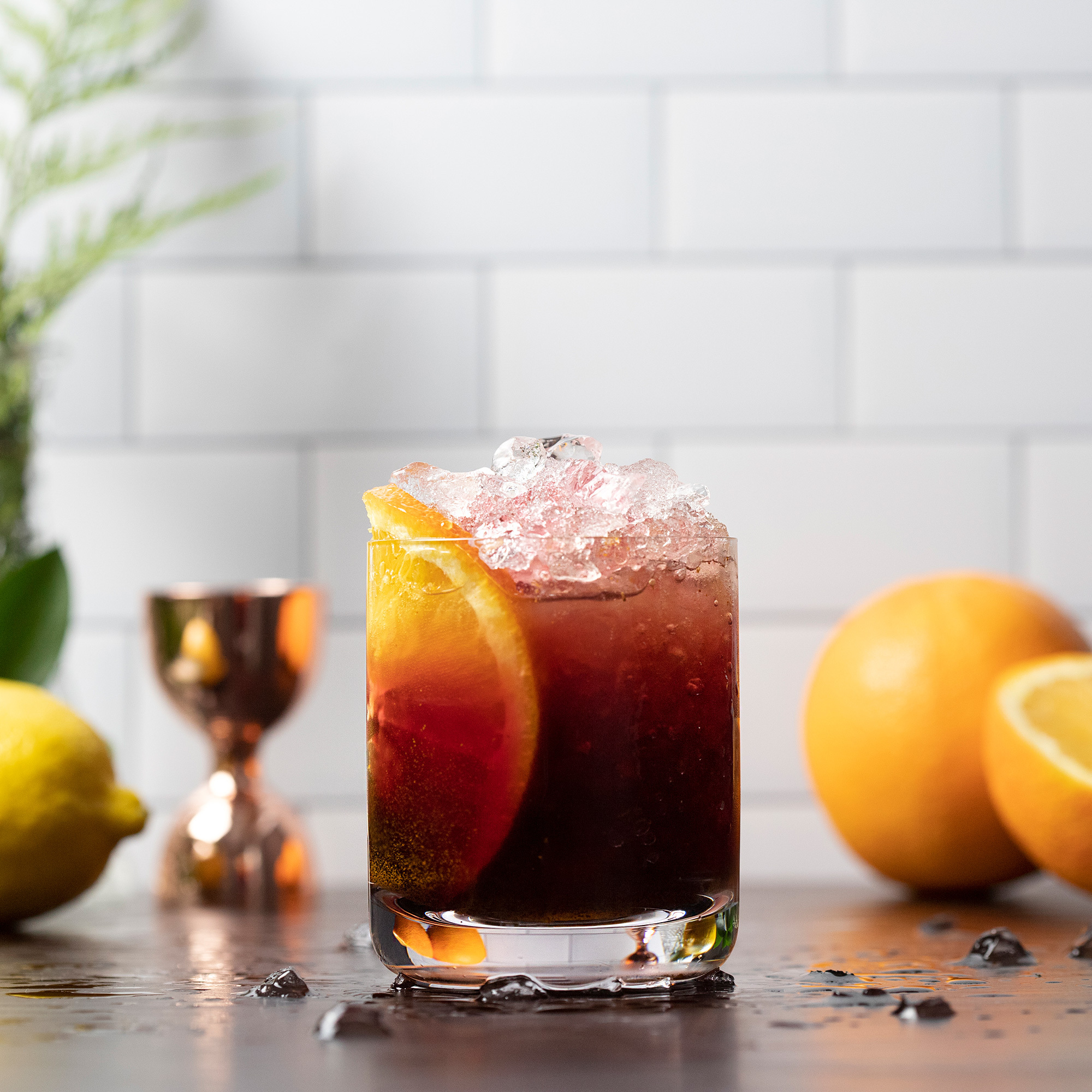 Elderberry Elixir Mocktail