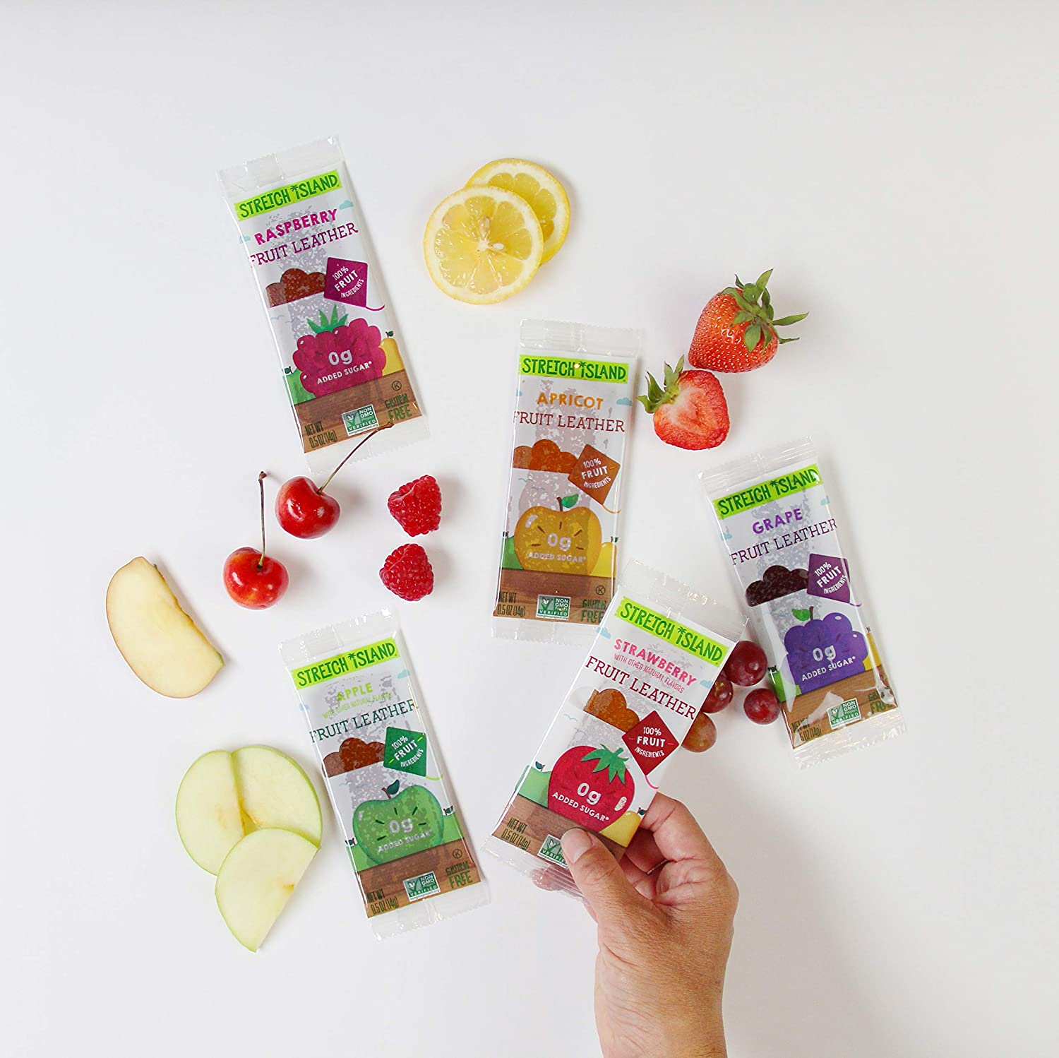 Stretch Island fruit leather pack