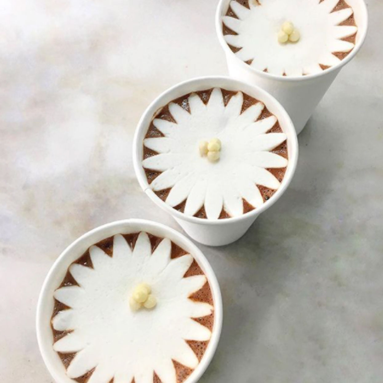 Dominique Ansel Blossoming Hot Chocolate