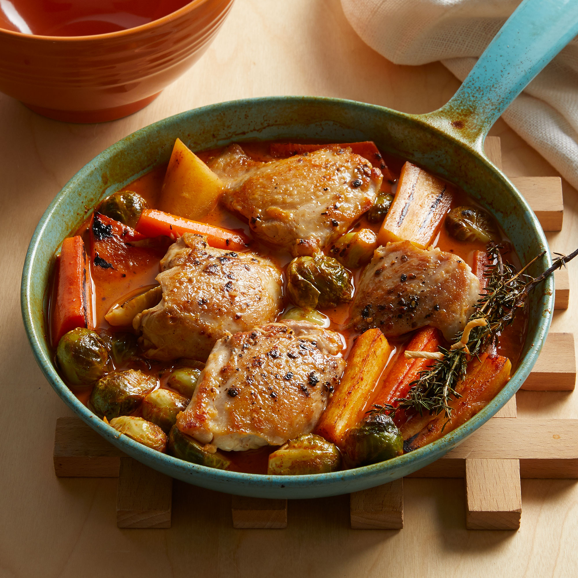 Braised Chicken & Fall Vegetables