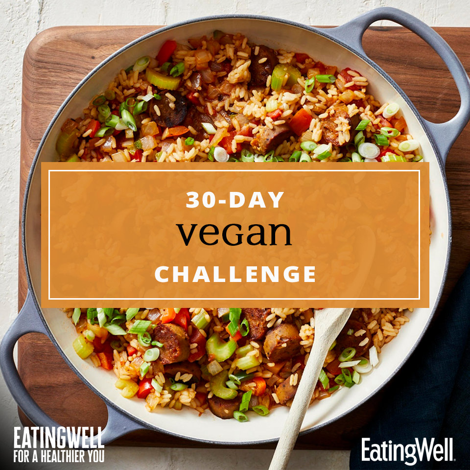 30-Day Vegan Challenge