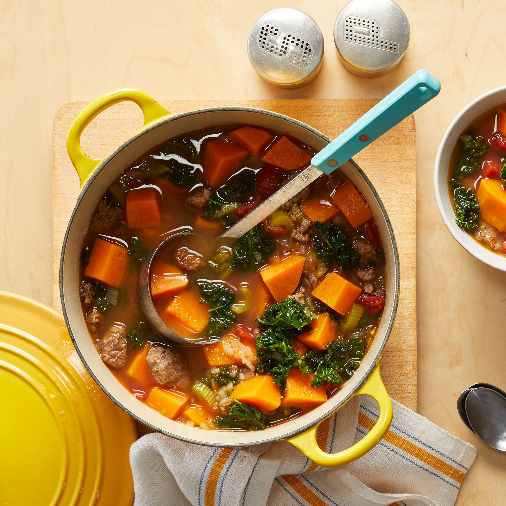 Fall Vegetable & Sausage Stew