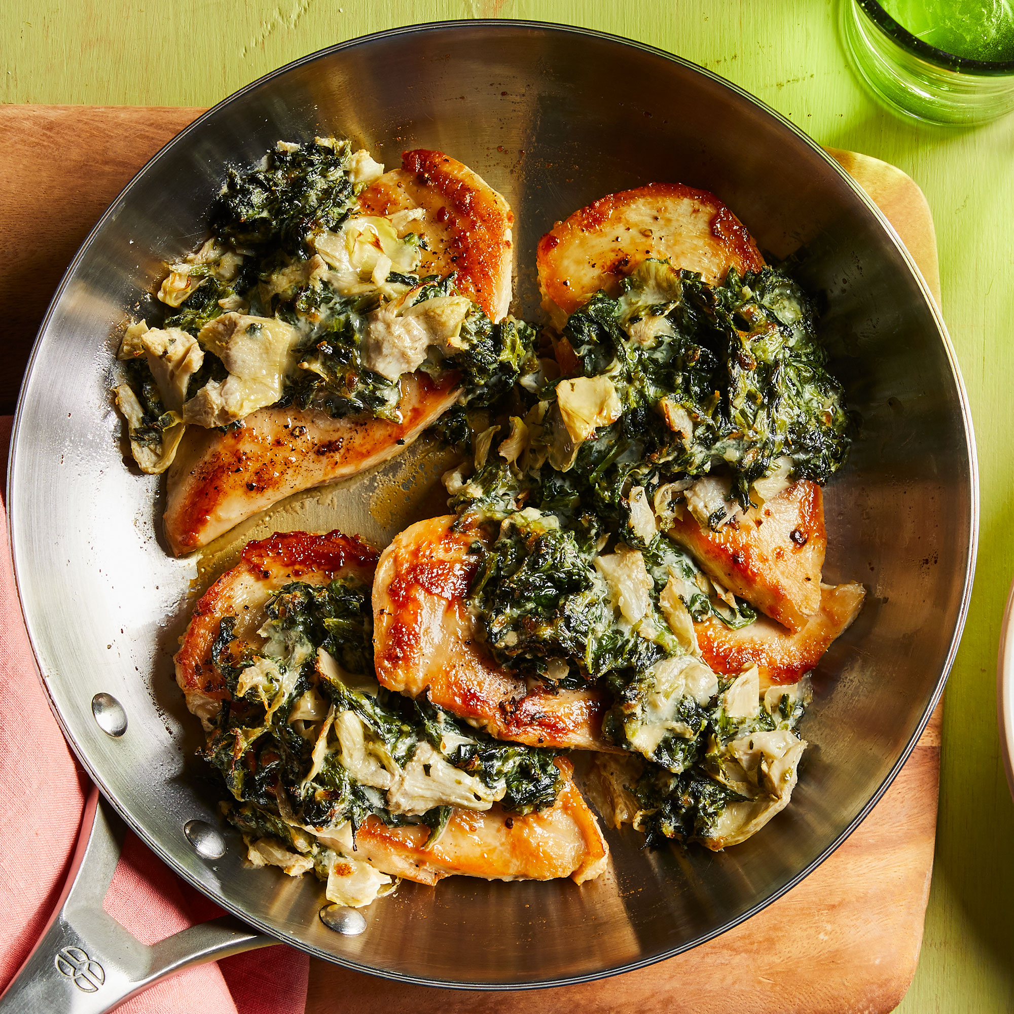 Spinach & Artichoke Chicken