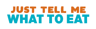 just tell me what to eat logo