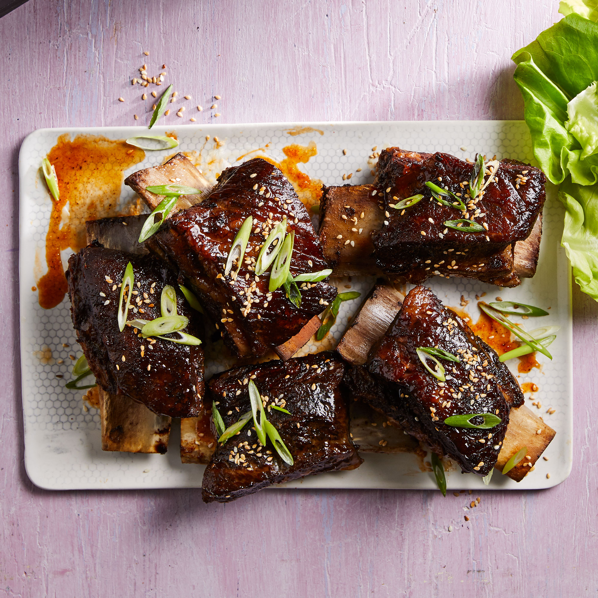 Sweet & Spicy Soy-Braised Short Ribs