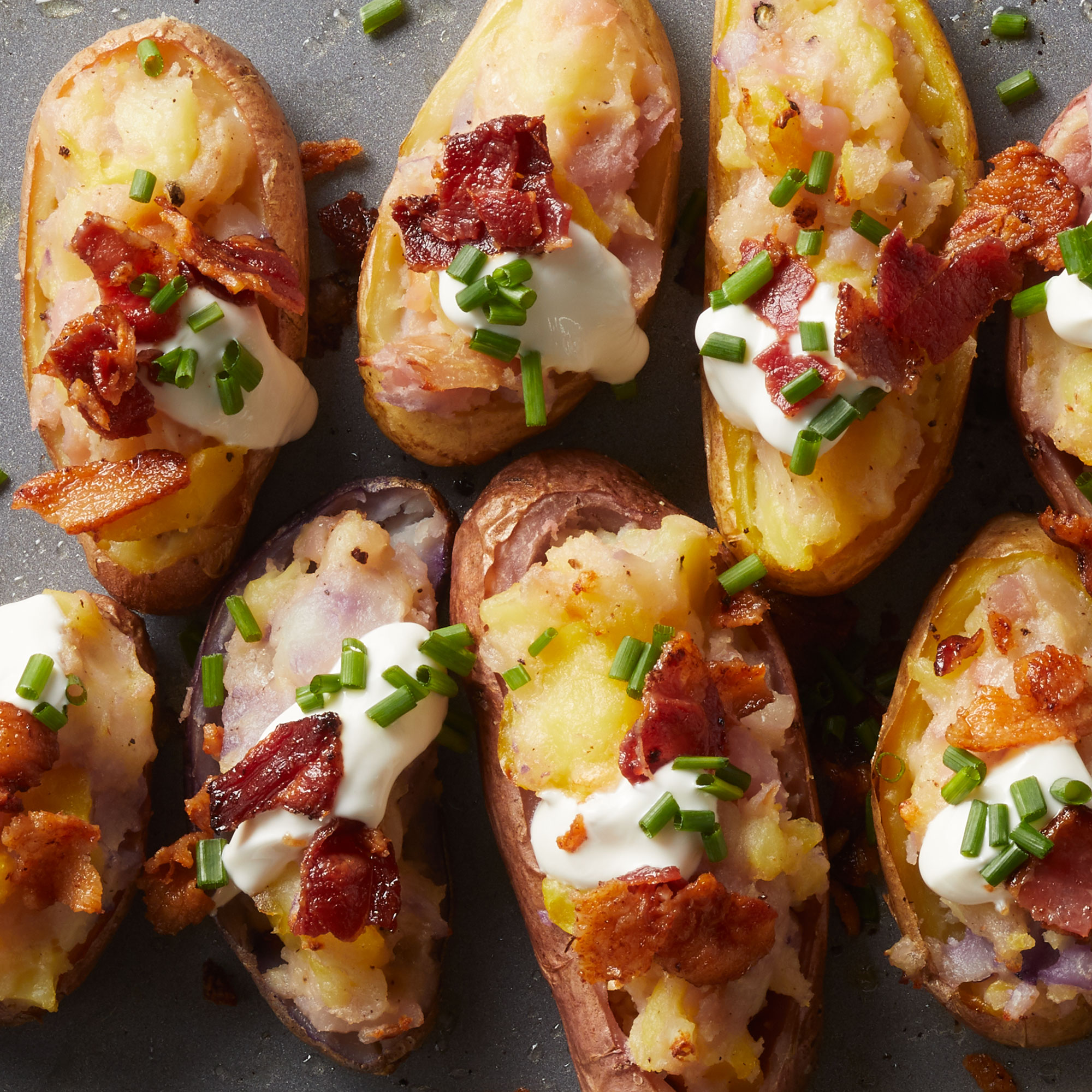 Loaded Fingerling Potatoes
