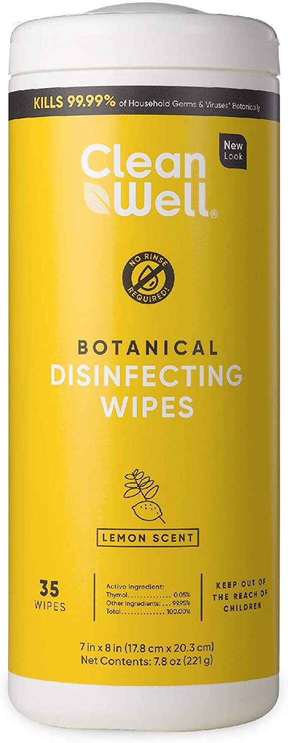 cleanwell disinfecting wipes