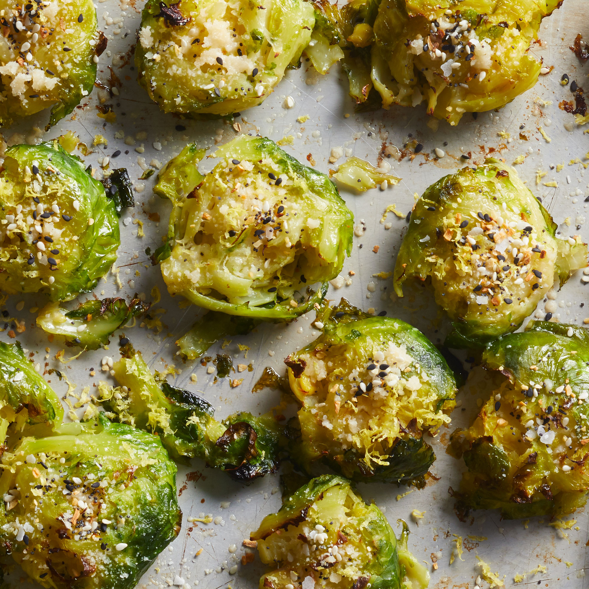 Smashed Brussels Sprouts Are the Newest TikTok Trend We Love