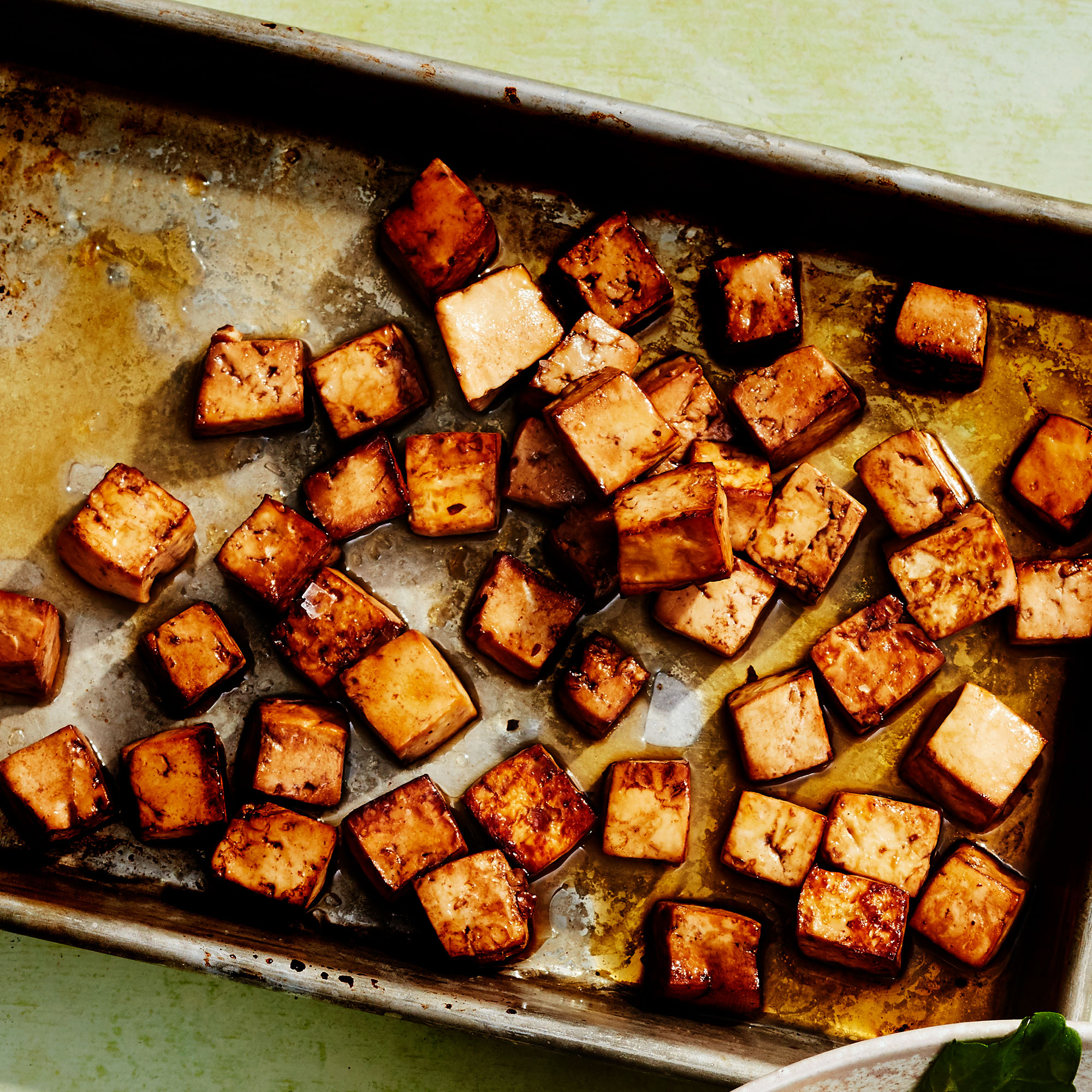 Honey-Balsamic Roasted Tofu