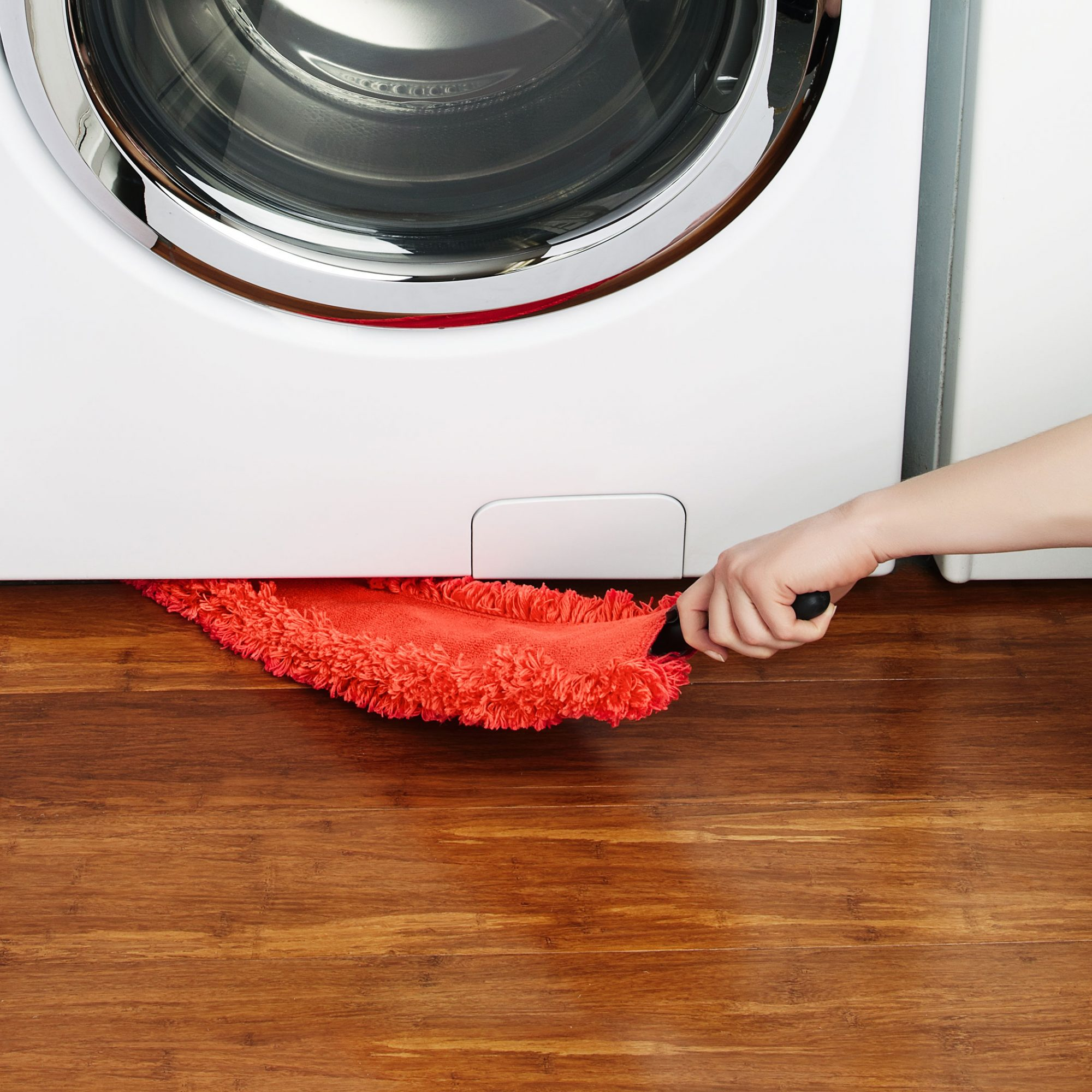 Easily Clean Under Your Fridge and Stove with This Microfiber Duster