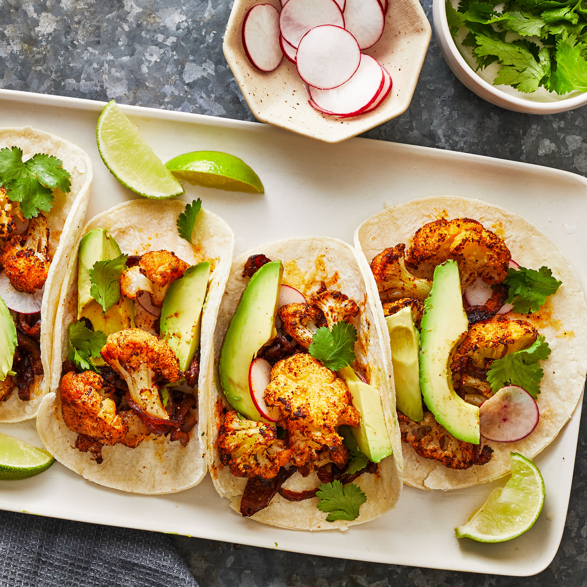 Easy Cauliflower Tacos