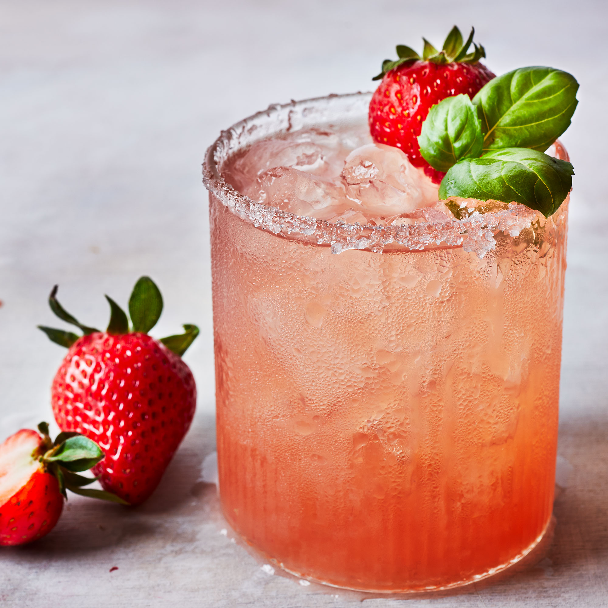 Fresh Strawberry Margarita
