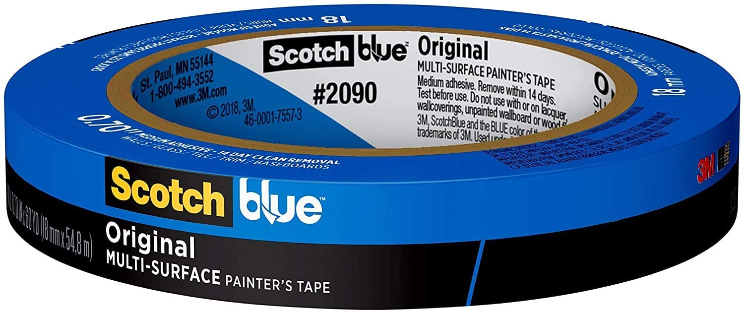 roll of blue tape
