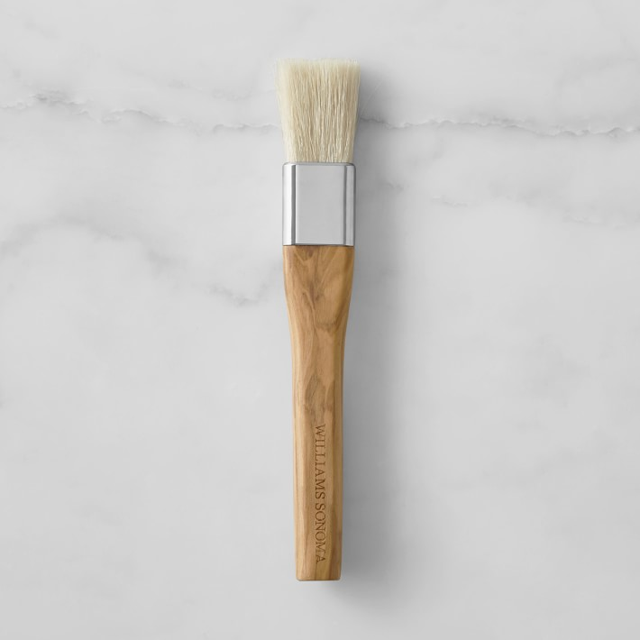 pastry brush with natural bristles