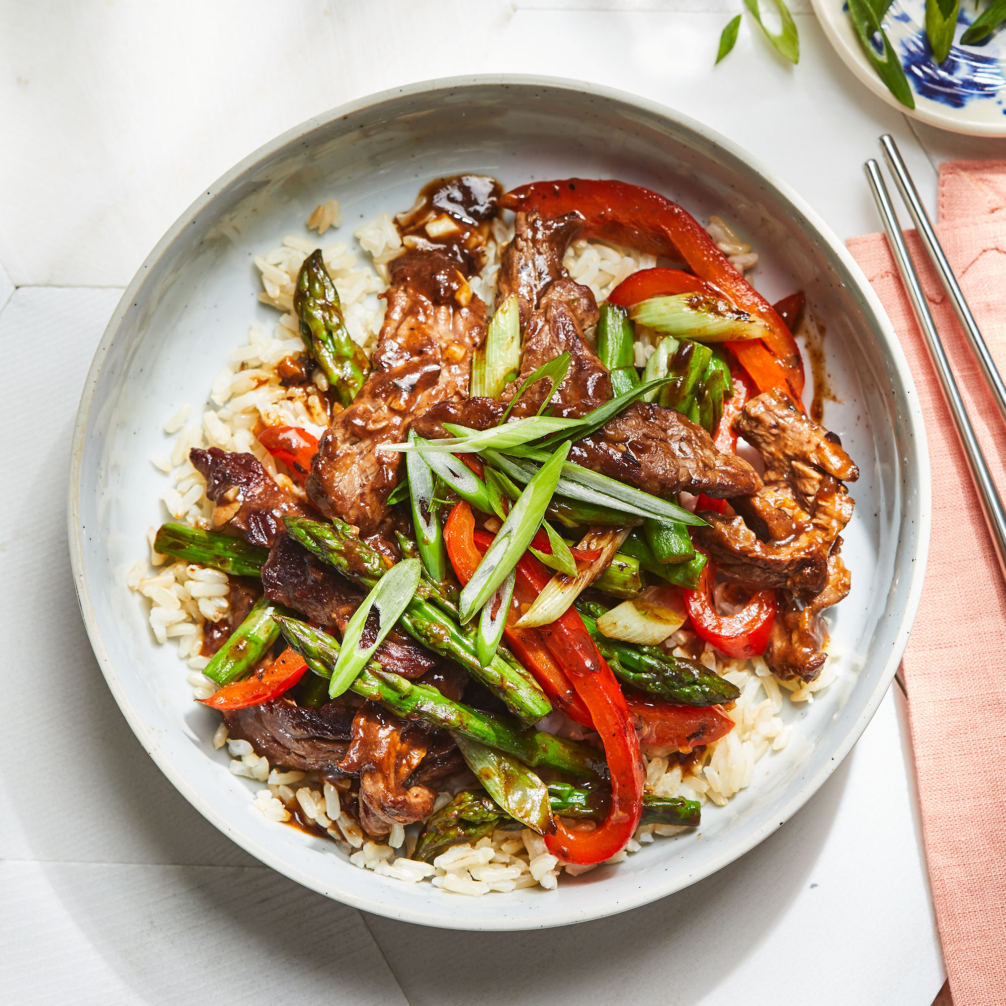 Steak & Vegetable Stir-Fry with Black Bean-Garlic Sauce