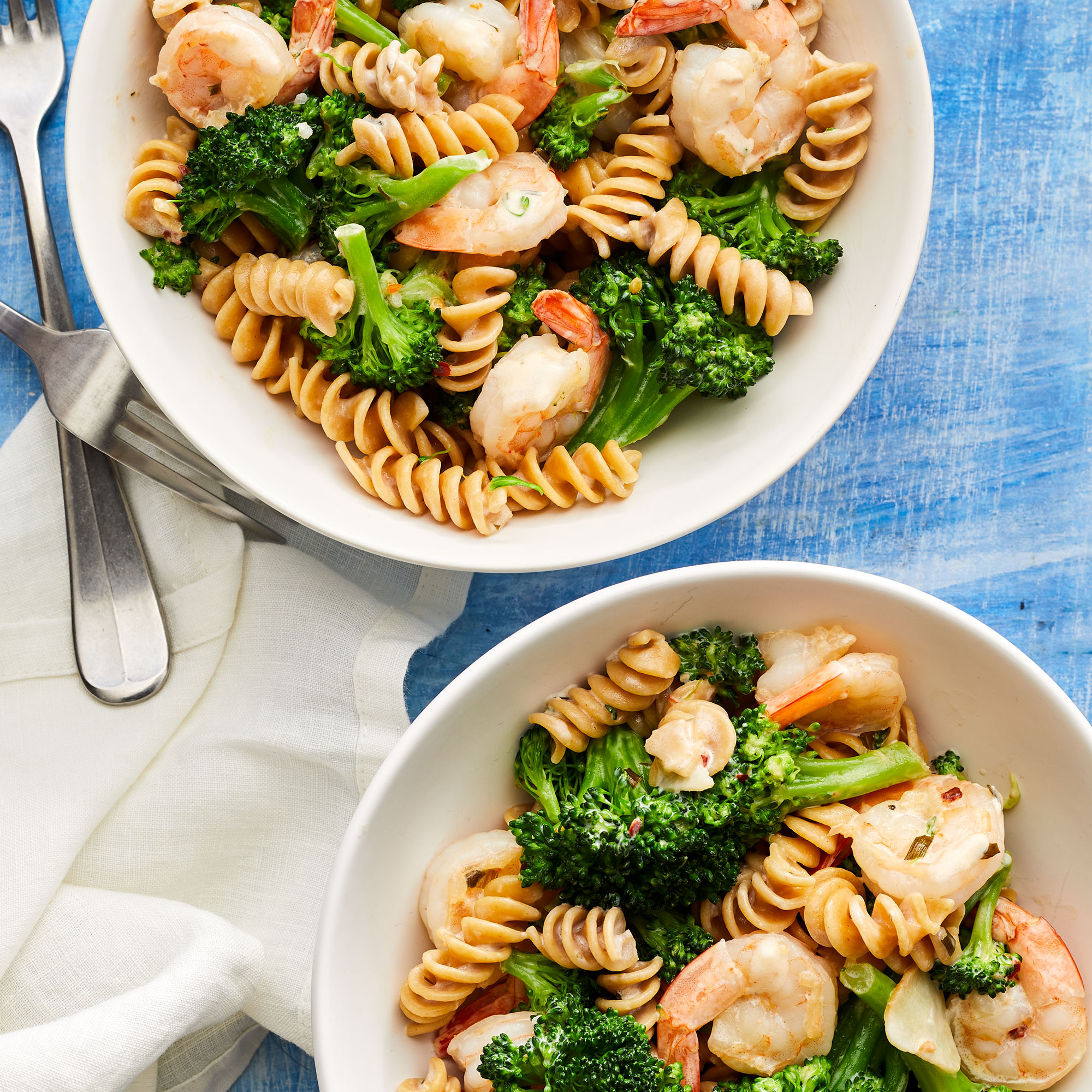 Shrimp & Broccoli Pasta